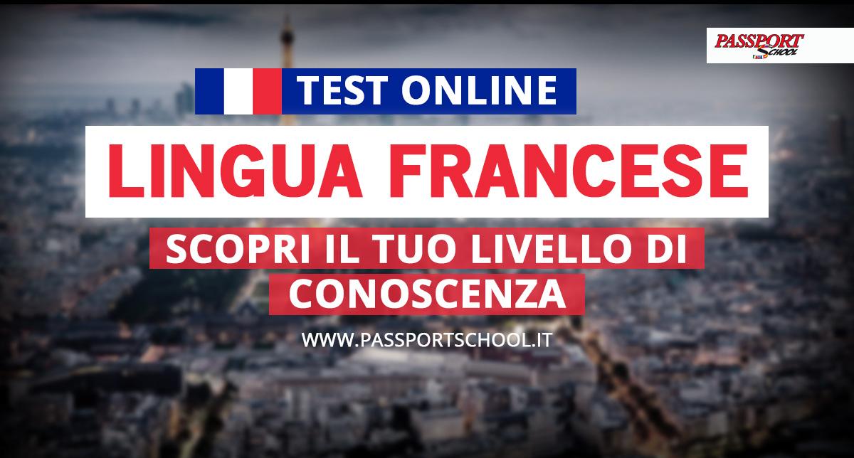 test livello lingua francese